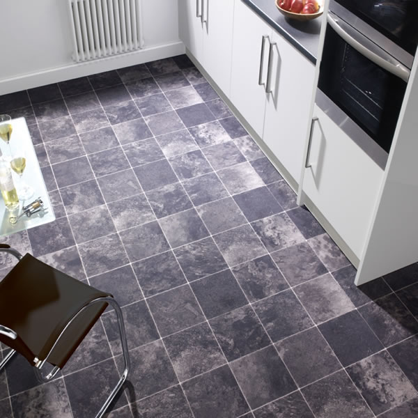 Non slippery floor tiles